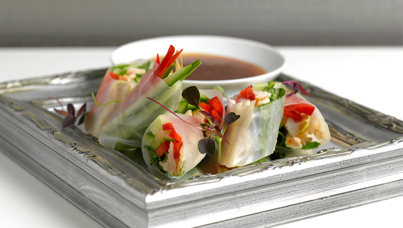 Harvey Nichols Rice Paper Rolls