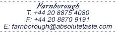 Inflight Farnborough.