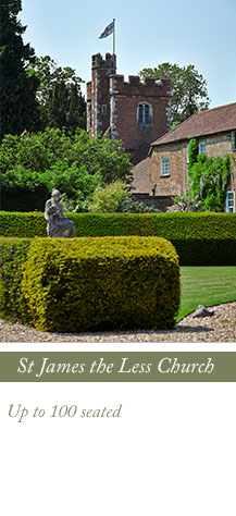St James the Less Church, Dorney Court