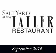 Tatler Restaurant 2016